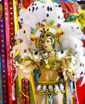 Costumes to Parade in Sambadrome: Pre Sale