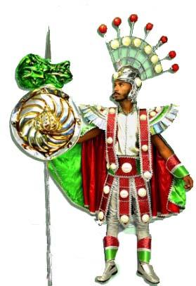 Império da Tijuca - O intrépido Santo Guerreiro