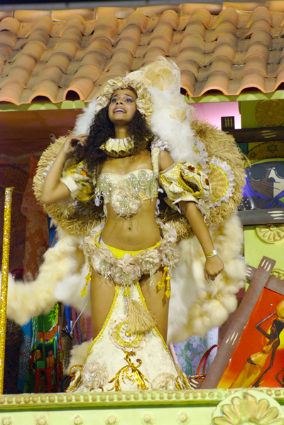 The black culture's contribution to Rio Carnival