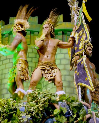 Soccer, samba and Rio carnival