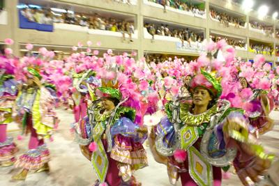 Rio Carnival 2018: Samba Parade Order