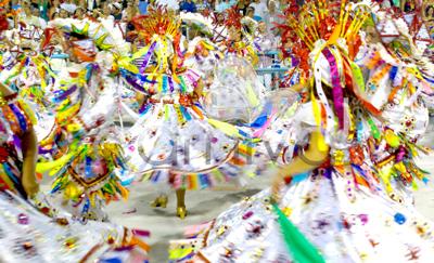Inside a Samba Parade